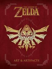 The Legend of Zelda: Art & Artifacts by Nintendo Games Hardcover Book