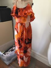 SZ 8 WITCHERY MAXI DRESS *BUY FIVE OR MORE ITEMS GET FREE POST