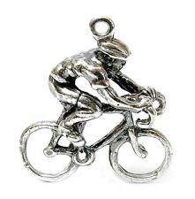 Vintage Silber Radfahrer Charme