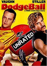 NEW DVD // DODGE BALL - Ben Stiller, Christine Taylor, Vince Vaughn, Rip Torn,