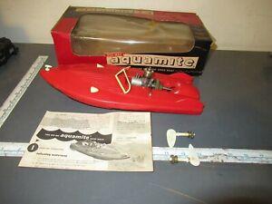 Wen Mac Aquamite Hydroplane Boat with Original Box