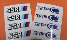SSR TYPE C Repair Sticker- FREE WORLDWIDE SHIPPING