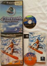 @@@ NINTENDO GAMECUBE SSX 3 SSX3 & WAVE RACE WAVERACE BLUE STORM GAMES @@@