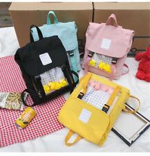 Japanese Harajuku transparent Backpack Shoulder Bag Itabag Laptop bag Handbag