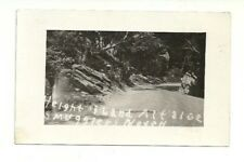 HEIGHT OF LAND, SMUGGLERS NOTCH, VERMONT VINTAGE REAL PHOTO POSTCARD