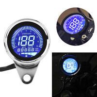 Universal Motorcycle Digital LED Odometer Speedometer Tachometer Speed Gaug Gw