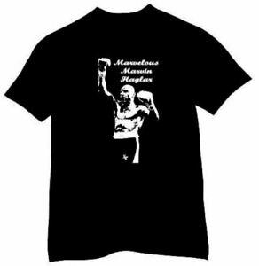 Marvelous Marvin Hagler Boxing Legend Training Gym  T-shirt