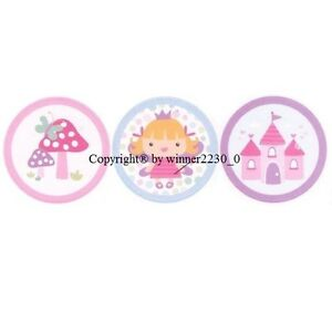 Premium Quality PRINCESS Party Invitation Sticker Envelope Gift Bag Seal 28mm Ø