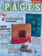 7 BOOKMAKING TECHNIQUES Summer 2014 PAGES Magazine MAKE JOURNALS  MINI ZINES