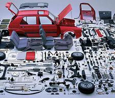 VW MK2 GOLF GL GTI 8v 16v 1.3 1.6 1.8 SERVICE MOD WORKSHOP EXPLODED PARTS MANUAL