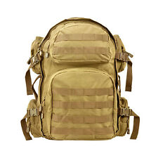 NcSTAR TACTICAL 3 DAY ASSULT PACK BACKPACK BUG OUT BAG PALS TAN CBT2911
