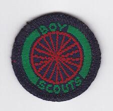 1960's UNITED KINGDOM / BRITISH BOY SCOUTS - SEA SCOUT CYCLIST Proficiency Badge