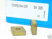 10 NEW VALENITE CARBIDE INSERTS CNMG-644-GR GRADE-SV325