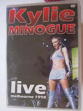 DVD  KYLIE MINOGUE    LIVE MELBOURNE 1998        DVD