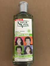 NATUR VITAL HAPPY HAIR NORMAL HAIR SHAMPOO GREEN TEA 500 ML HYPOALLERGENIC