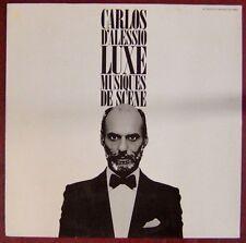 Luxe 33 tours Musiques de scène Carlos D'Alessio
