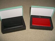 Puerto Rico .com - Red Synthetic Skin Business Card Wallet - New and Rare