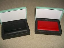 Puerto Rico .com - Black Synthetic Skin Business Card Wallet - New and Rare