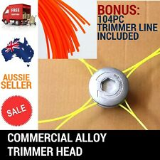 WITH 104PC LINE UNIVERSAL ALLOY LINE TRIMMER HEAD WHIPPER SNIPPER BRUSHCUTTER
