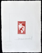 Chad 1959 SC#65 Artist Die Proof Signed Mint Never Hinged