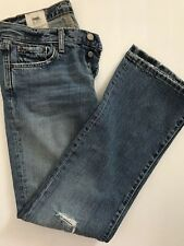 RUEHL 925 Button Fly Distressed Blue Denim Jeans Men's Tag Size 28 x 31