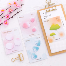 Random Petal Memo Sticker Bookmark Sticky Notes Index Tab Marker Flags Guestbook