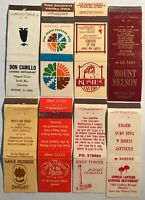 8 Matchbooks Match Covers Boxes From Tasmanian Businesses Hobart Burnie