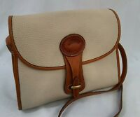 DOONEY & BOURKE pebbled (AWL) All Weather Leather cross body bag (made in USA)