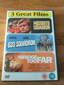 Mosquito Squadron/633 Squadron/A Bridge Too Far DVD (2007) Suzanne Neve, Sagal