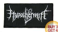 HYPOTHERMIA W PATCH,BUY3GET4,URFAUST,LIFELOVER,SILENCER,BLACK METAL,SHINING,GRIS