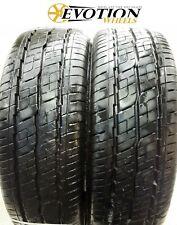 1957015C COOPER 195 70 15C 104/102R EVOLUTION Used Part Worn 7.8mm x 2 Tyres