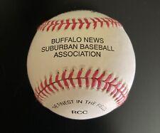 Buffalo News Suburban Baseball Association Unused Rawlings Baseball