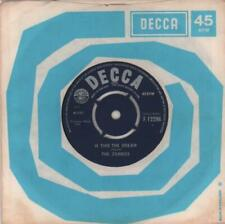 """Zombies Is This The Dream UK 7"""" vinyl single record F.12296 DECCA 1965"""
