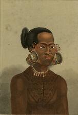 Antique Print-PORTRAIT-RARICK-RADACK-EARRING-OCEANIA-CHAMISIO-Anonymous-ca. 1840