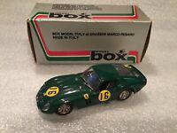 Box 1/43 Scale Model Ferrari 250 GTO. No. 16 Tourist Trophy Race 1963.