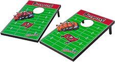 Tampa Bay Buccaneers Cornhole Bean Bag Toss Game Set NFL Boards Tailgate Baggo