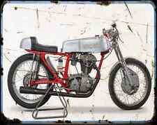 Ducati 175 Sprint A4 Photo Print Motorbike Vintage Aged