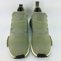 Adidas classic NMD R1 Men's Size 10.5 Runner Casual Shoes OLIVE BA7249