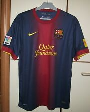 FC Barcelona 2012 - 2013 Home football shirt jersey camiseta Nike Size L