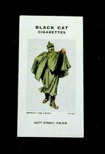 Rare Carreras Black Cat Cigarette Card - Reameaker's WW1 War Cartoons 1916 # 72