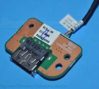 TOSHIBA Satellite C55-A C55T-A C55-A5242 Laptop USB Port Board w/ Cable