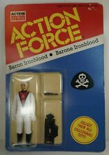 ACTION FORCE BARON IRONBLOOD PALITOY PACKED WITH HAN SOLO BLASTER RARE MISPACK