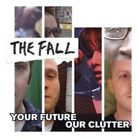 """Reproduction """"The Fall - Your Future"""", Poster, Album Cover, Size: 16"""" x 16"""""""
