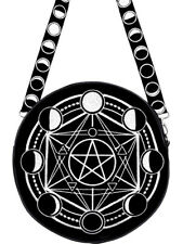 Restyle Moon Circle Tas Bag Gothic Occult