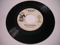 PROMO Rufus Thomas If There were No Music 1976 45rpm VG++