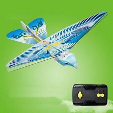 So Amazing 27MHz Blue Flying E-Bird Kid's RC Toy Flying Bird Remote Control !