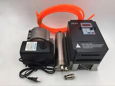 2.2 kW Motor del eje ER20 Agua Enfriado 220 V D80MM y 2.2 kW Kit De Inversor VFD Controlador