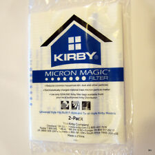 Kirby Universal Bags 2/PK F-Style and Twist on white polypropylene bags. 205811