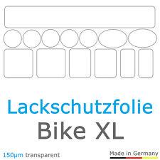 Bike XL - Schutzfolie Aufkleber Rahmenschutz Fahrrad Kettenschutz Motorrad