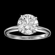 BLACK FRIDAY 2 CT DIAMOND ENGAGEMENT RING PRINCES F/SI 14K WHITE GOLD ENHANCED